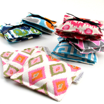 French lavender filled printed cotton sachets by Objects of Desire