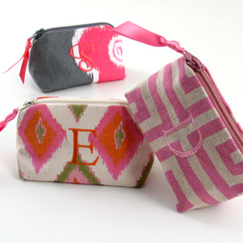 personalized printed cotton coin purse