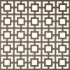 PC53 brown lattice